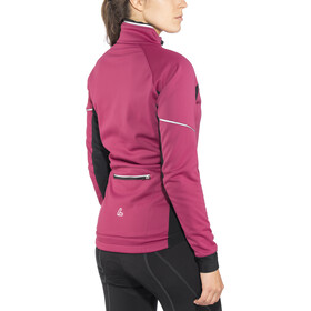 Löffler WS Warm Softshell Jacke Damen bordeaux
